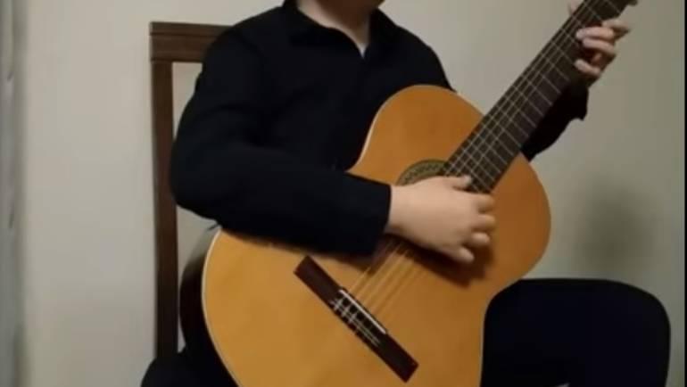 Mamy wyróżnienie 1. stopnia na gitarowym ogólnopolskim konkursie online!